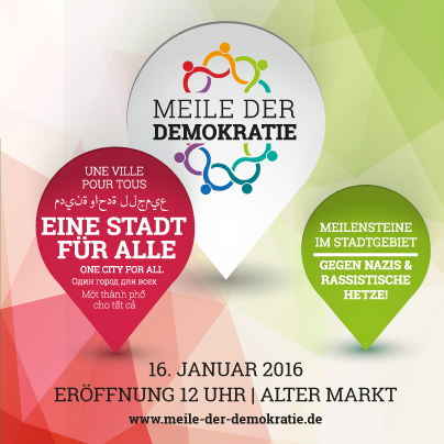 Meile der Demokratie 2016