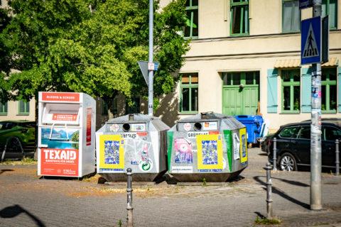 Container am Lessingplatz