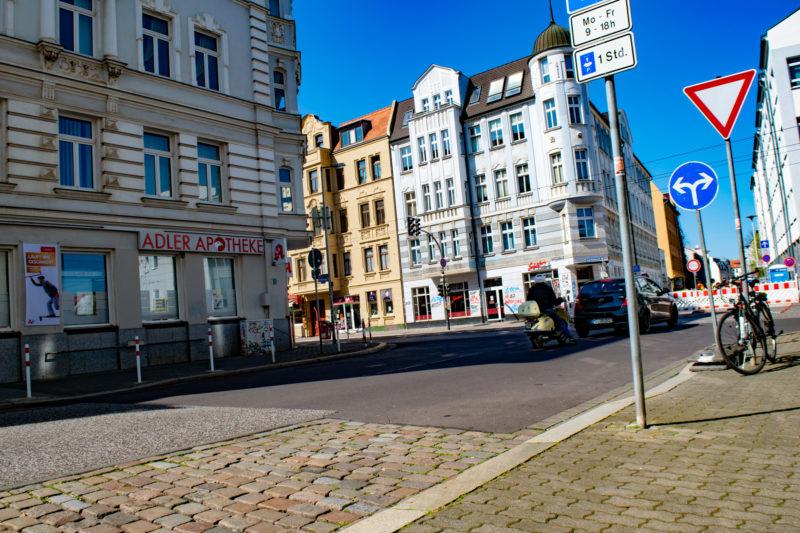 Kreuzung Arndtstraße / Gr. Diesdorfer Straße